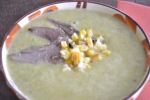 fajitas, pico, burgers, corn & poblano soup 060