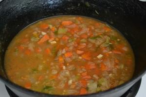 poblano soup, tomato cream sauce, bruni 009