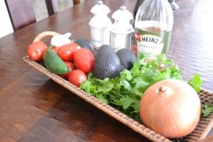 fajitas, pico, burgers, corn & poblano soup 011