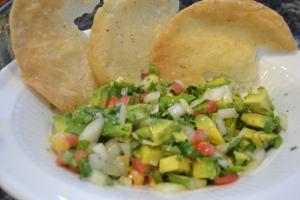fajitas, pico, burgers, corn & poblano soup 021