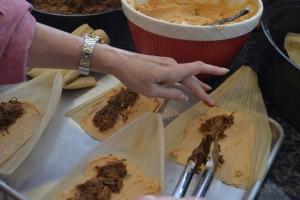 smoked pork shank, rum cake, tamales, dance, christmas 119