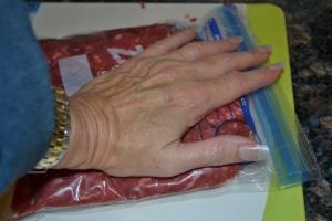 marmalade, grinding meat, empanadas, 2014-2-16 029